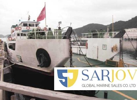 LCT RoRo Passenger Car Feery for Sale