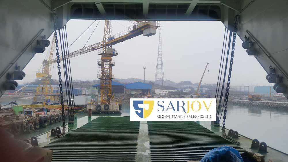 RORO Passenger Car Ferry Double-Ended