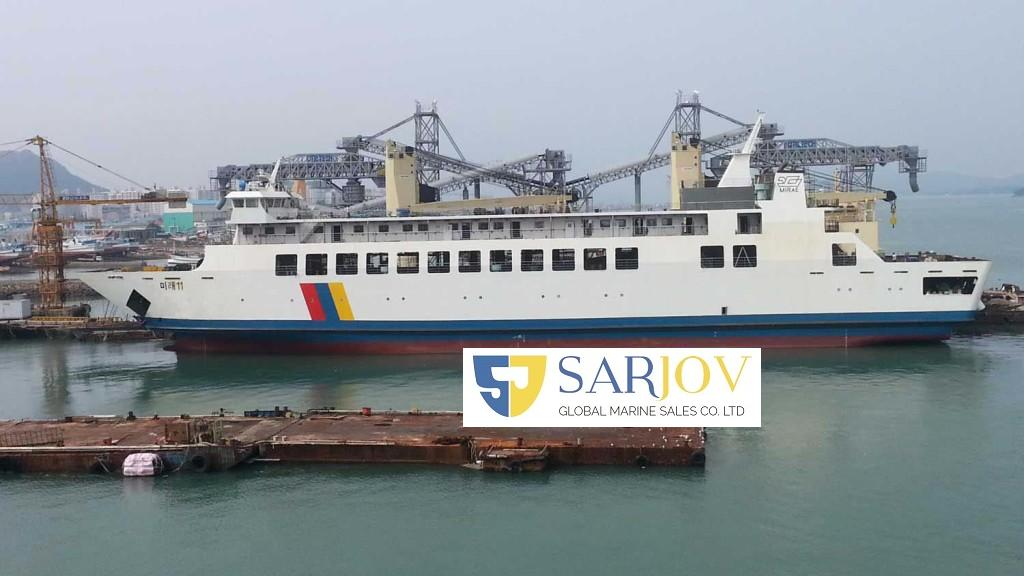 RORO Passenger and Car Ferry Double-Ended
