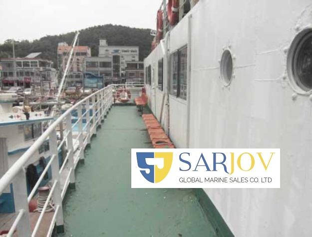 LCT RoRo Passenger Car Ferry for Sale