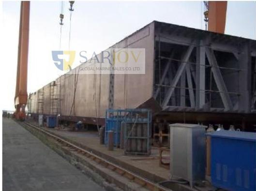 Deck Cargo Ballast Tank Barge for Sale