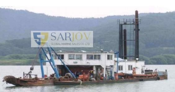 Cutter Dredger and Sand Pump for Sale