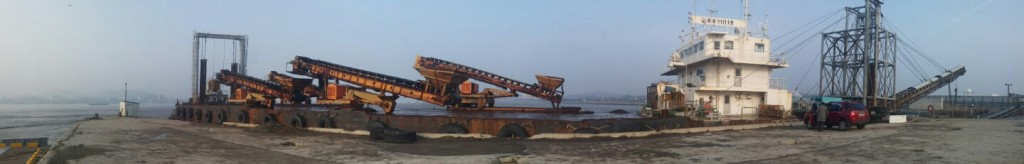 1,570Ton H Conveyer Barge for sale