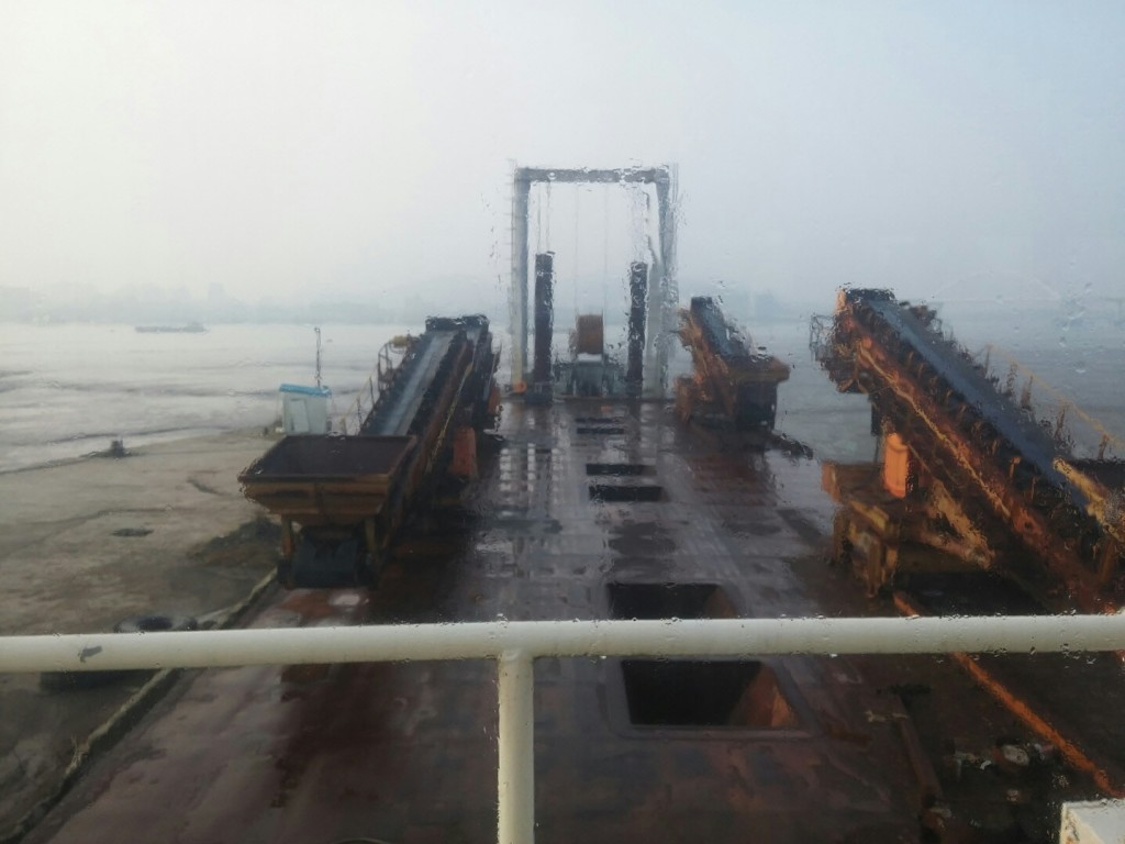 1,570Ton/H Conveyer Barge for sale