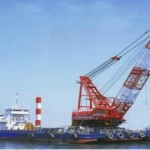 SKK 500t Crane & 15m3 Grab Dredger Barge for sale