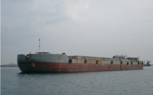 3500 m3 Split Barge for Sale