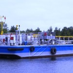 1200 m3 bunker barge unpropelled for sale