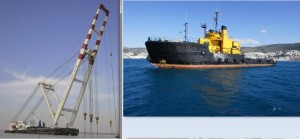 Cranes and Tugs for Sale