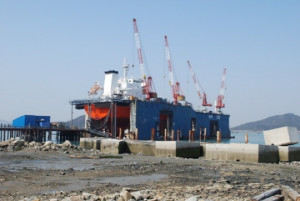 9000 ton Floating Dock for Sale
