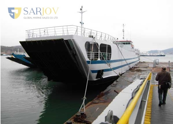LCT Passenger RORO Car Ferries for Sale