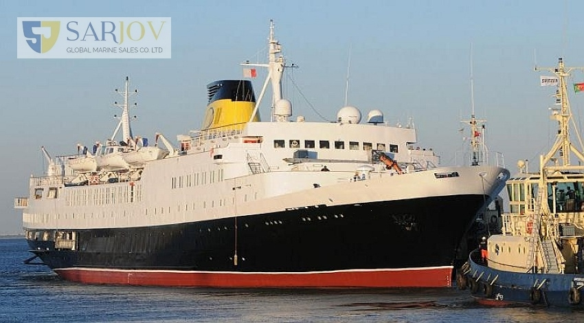 360 Passenger Cruise Ship for Sale